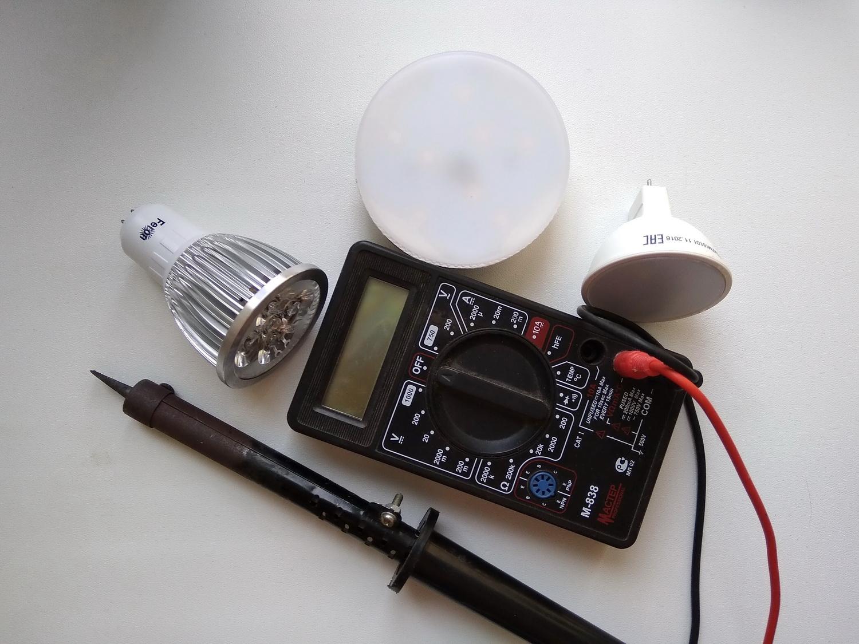 Диагностика и ремонт светодиодных панелей